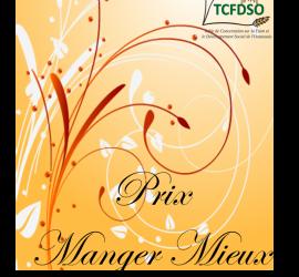 Prix Manger Mieux 2016